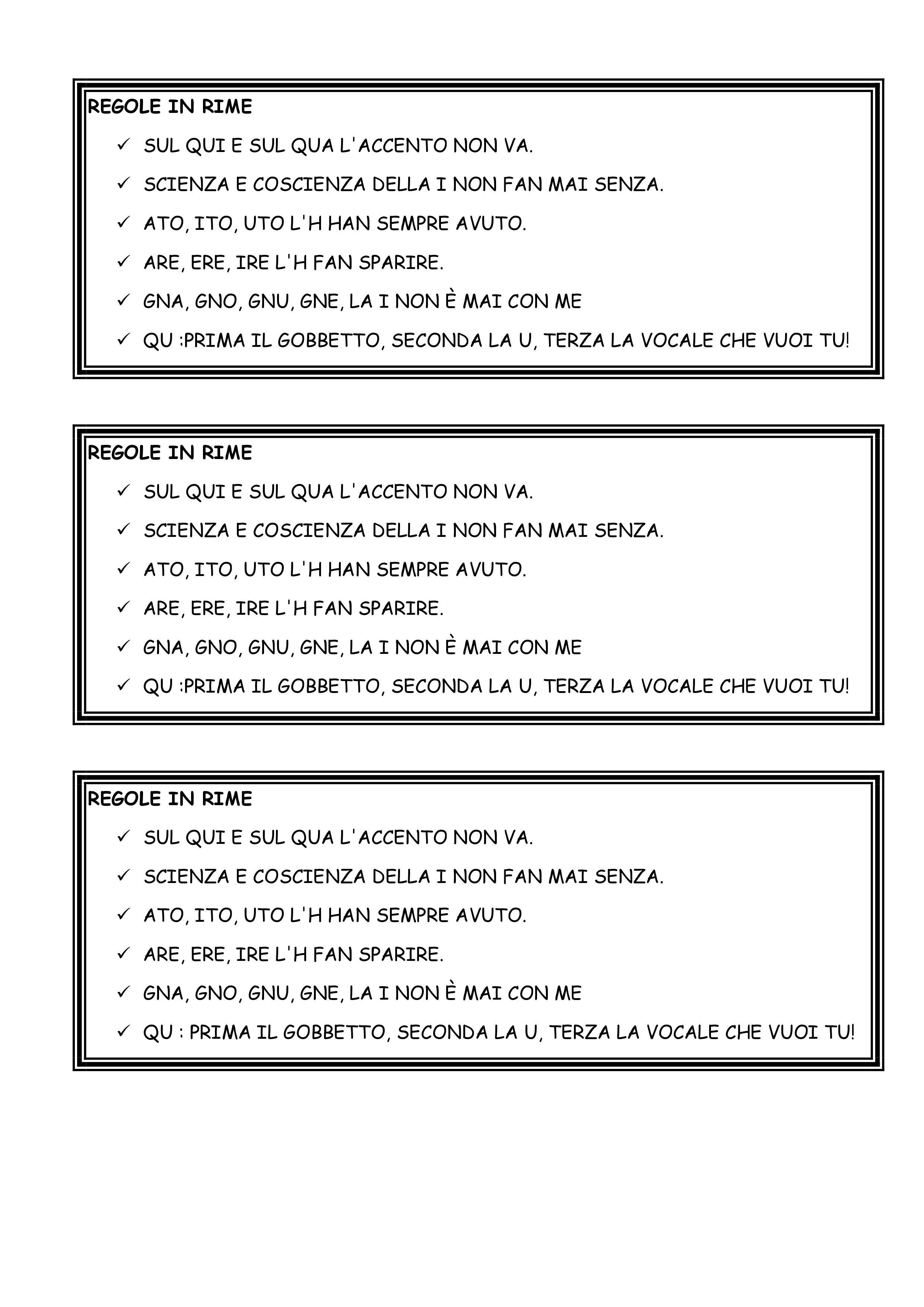 Regole grammaticali inglese pdf to word