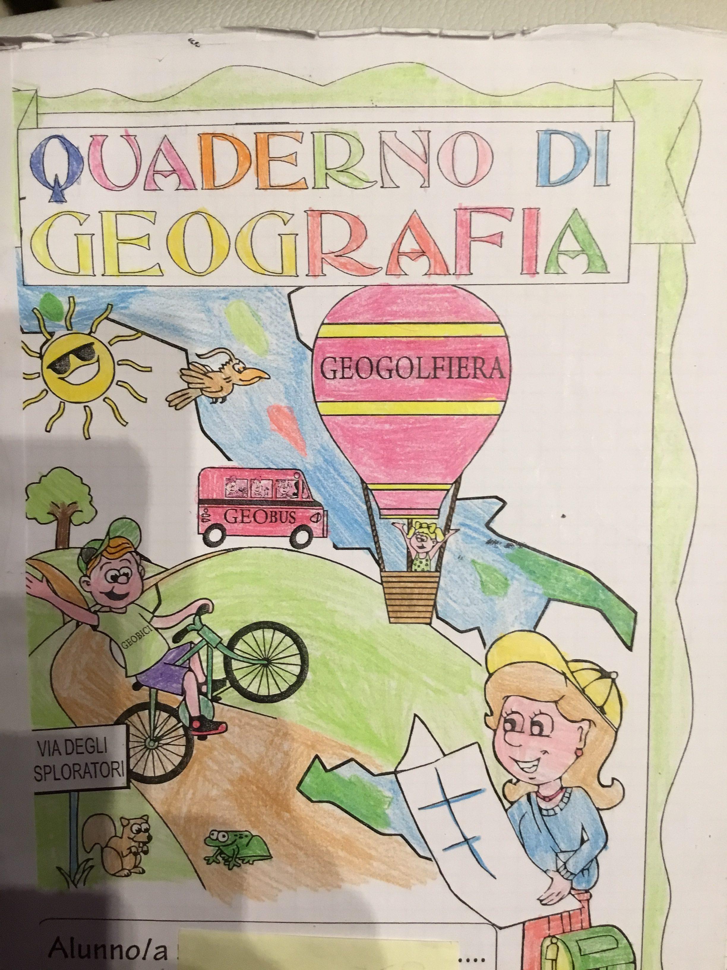 Conosciuto Quaderno di geografia classe terza | Blog di Maestra Mile GK71