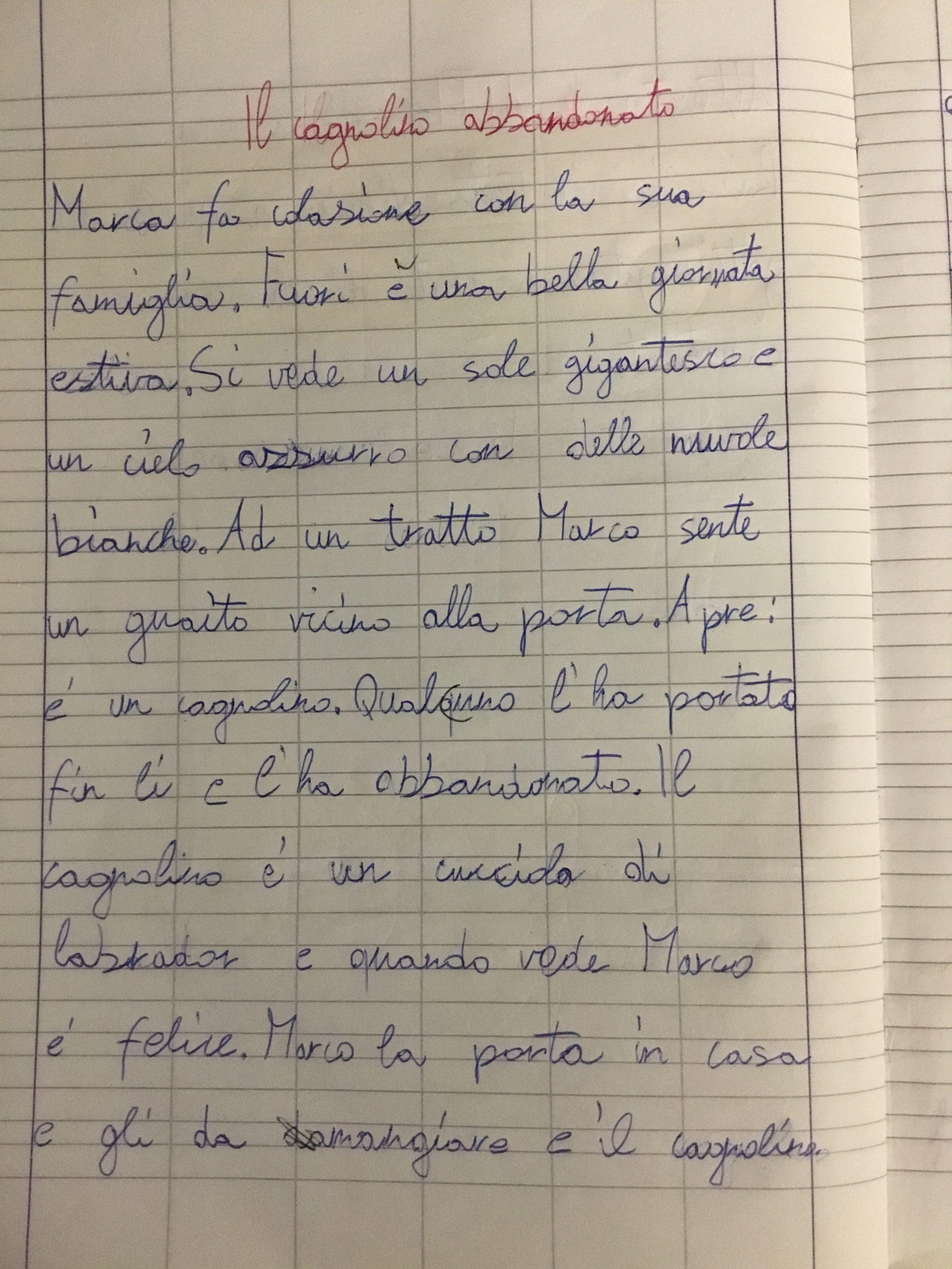 Quaderno Di Italiano Classe 3 Il Testo Descrittivo 1 Blog