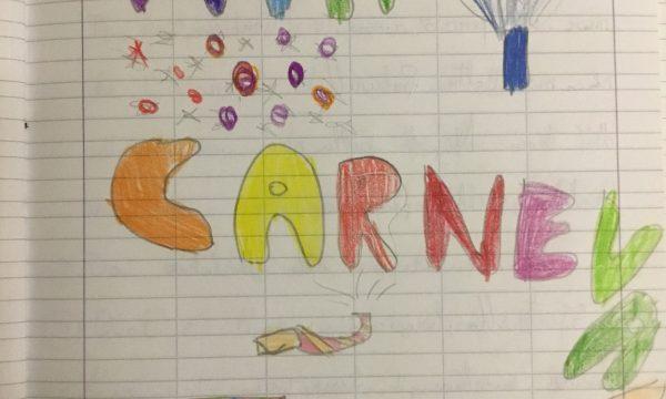 """Quaderno di italiano classe 3^  """"Carnevale """""""