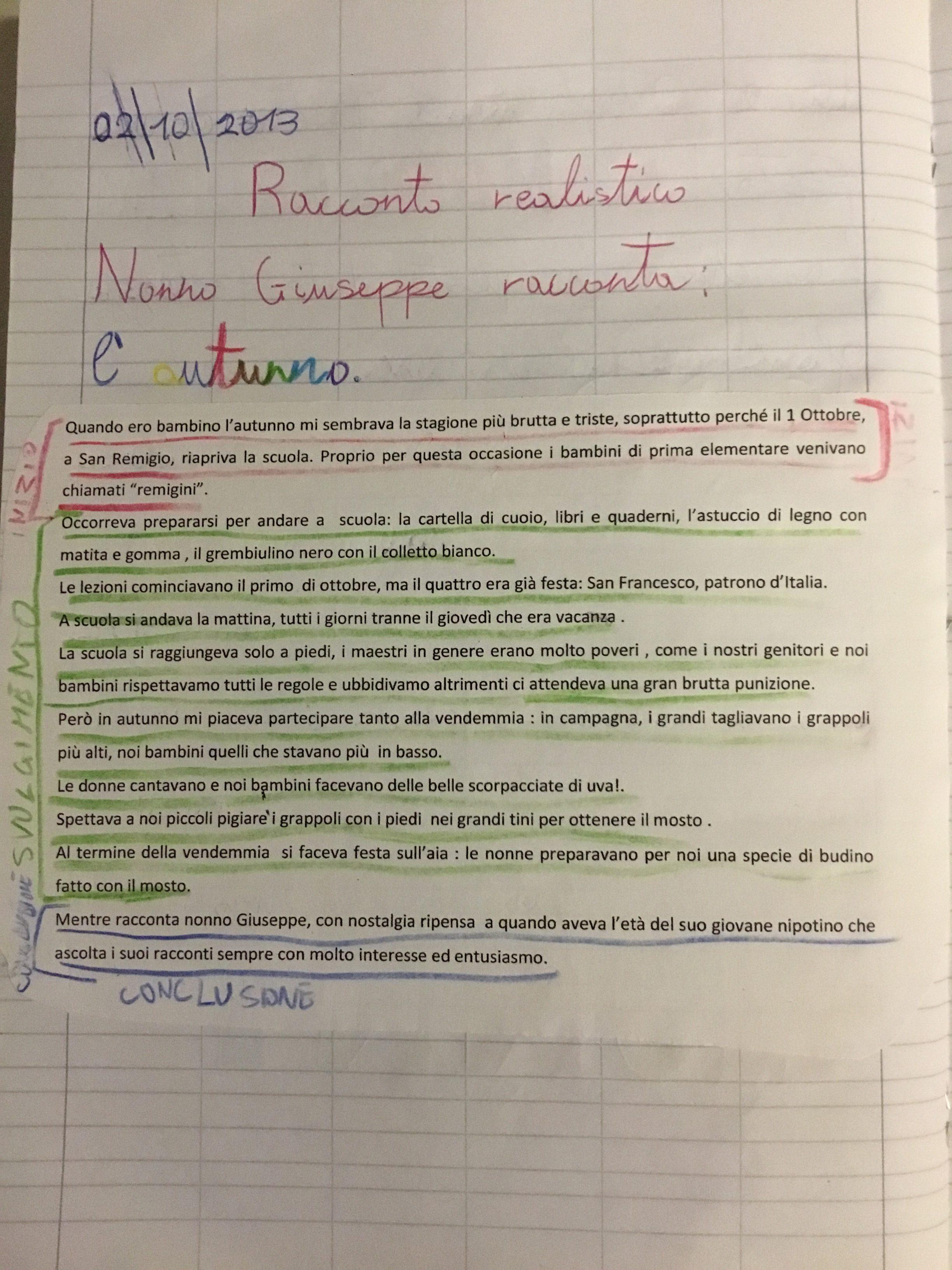 Quaderno Di Italiano Classe Iii Testo Narrativo 3 Blog Di