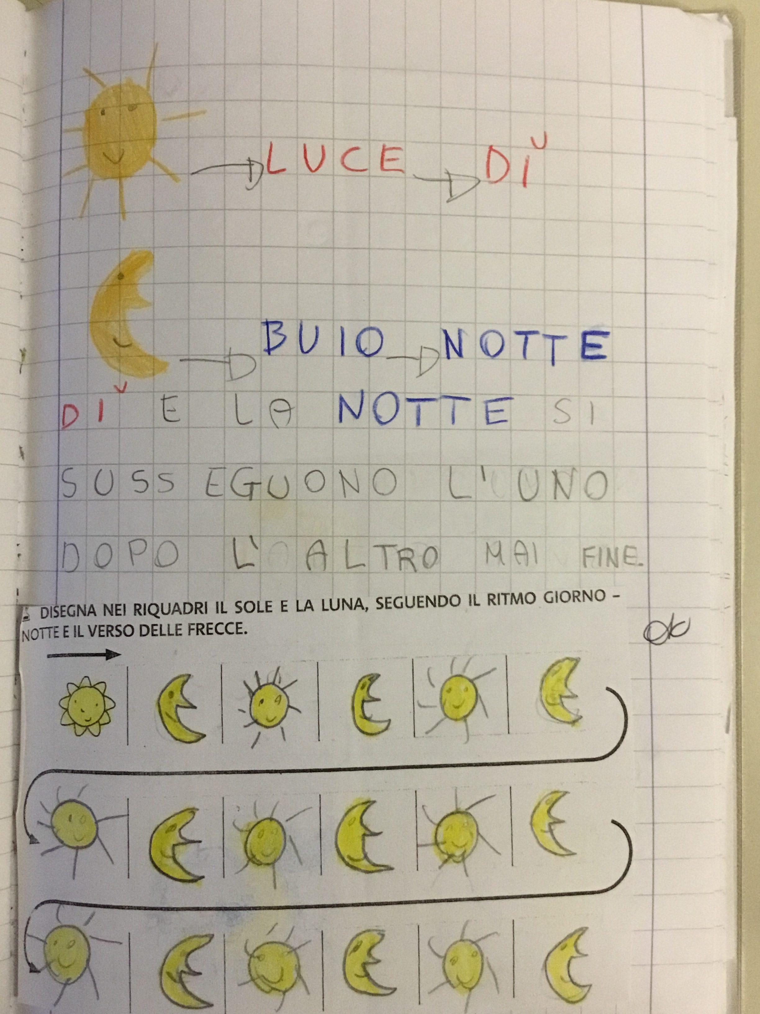Quaderno Di Storia Classe 1 Giorno E Notte 5 Blog Di Maestra Mile
