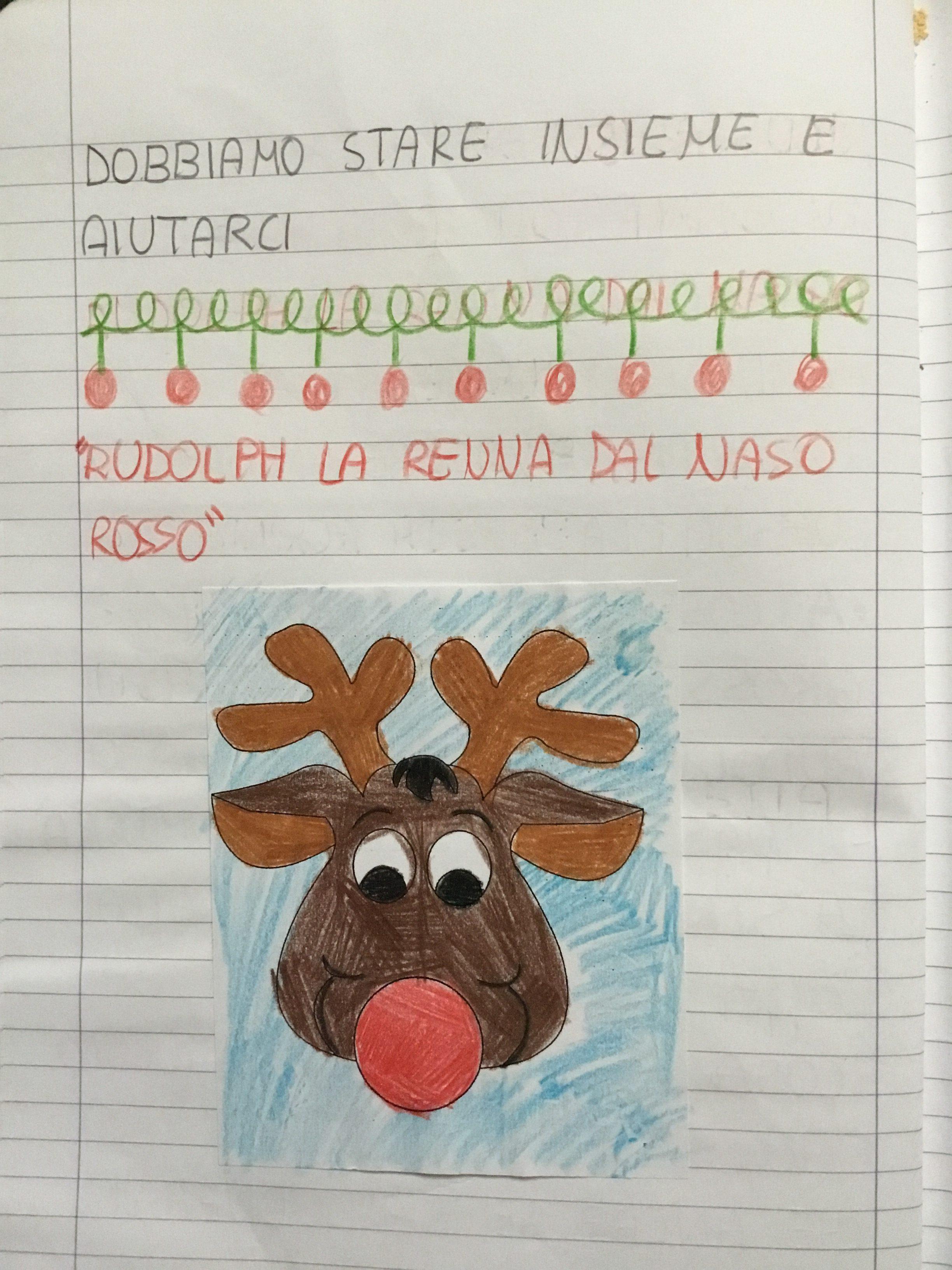 Rudolph La Renna Dal Naso Rosso Blog Di Maestra Mile