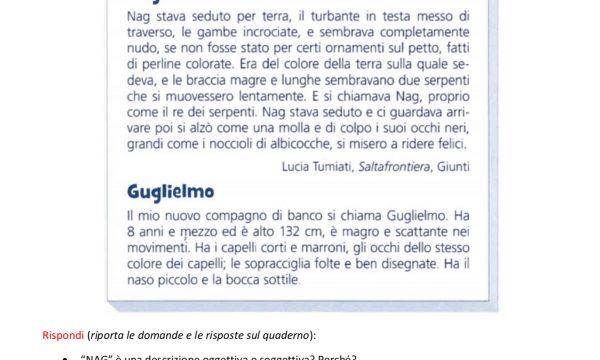 COMPITI ITALIANO 1