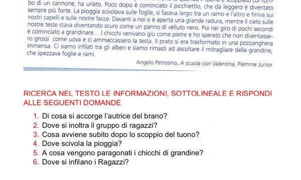 COMPITI ITALIANO 2
