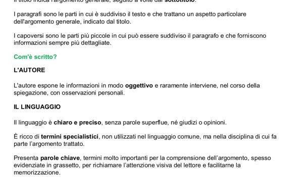 COMPITI ITALIANO 6