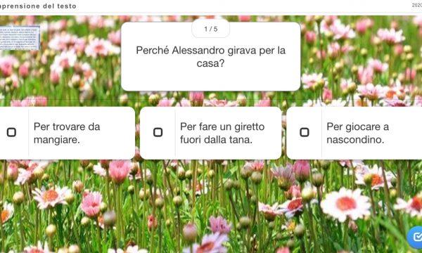 COMPRENSIONE:ALESSANDRO E IL TOPO MECCANICO