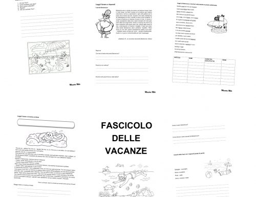 FASCICOLO DELLE VACANZE classe seconda