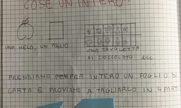 """MATEMATICA MARZO """"FRAZIONI"""""""