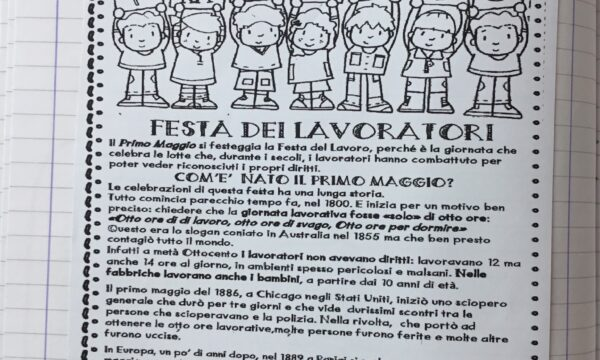 """1 MAGGIO """"FESTA DEI LAVORATORI """""""