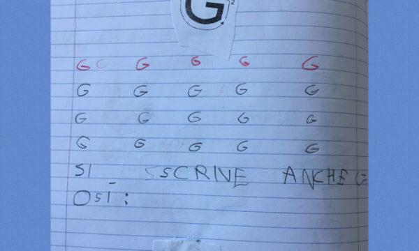 "CONSONANTE""G"""